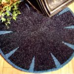 Aunt Lydia's Heavy Rug Yarn Knitted Round Rug Pattern