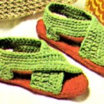 Free Crochet Pattern for Ladies Sandals