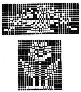 Cross Stitch or Filet Crochet Baby Nursery Patterns 2 - Vintage Crafts and More