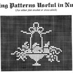 Cross Stitch or Filet Crochet Baby Nursery Patterns