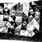 Cold Weather Comfort Puff Quilt Pattern Using Stuffed Triangles