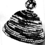 Vintage Hat Knitting Pattern – Winter Knit Ski Cap