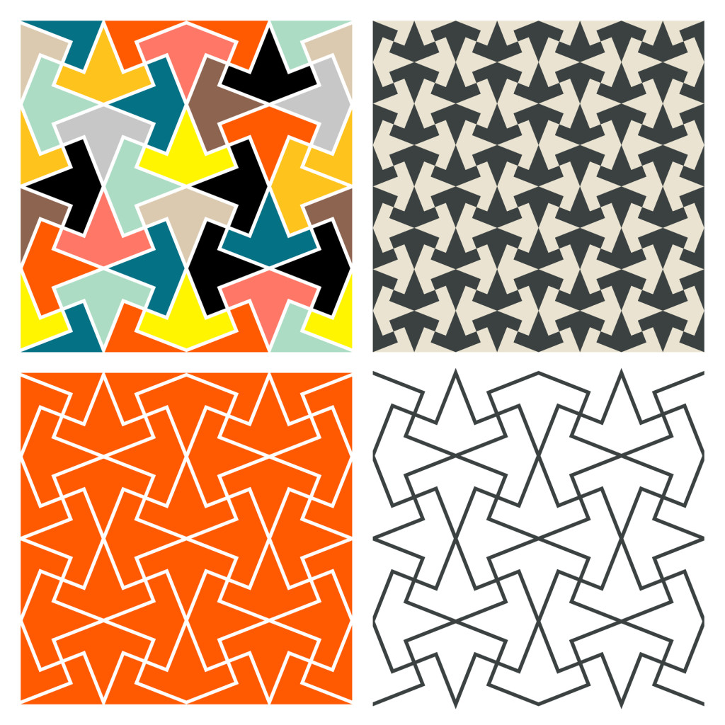Tessellations Martin Isaac Tile Patterns