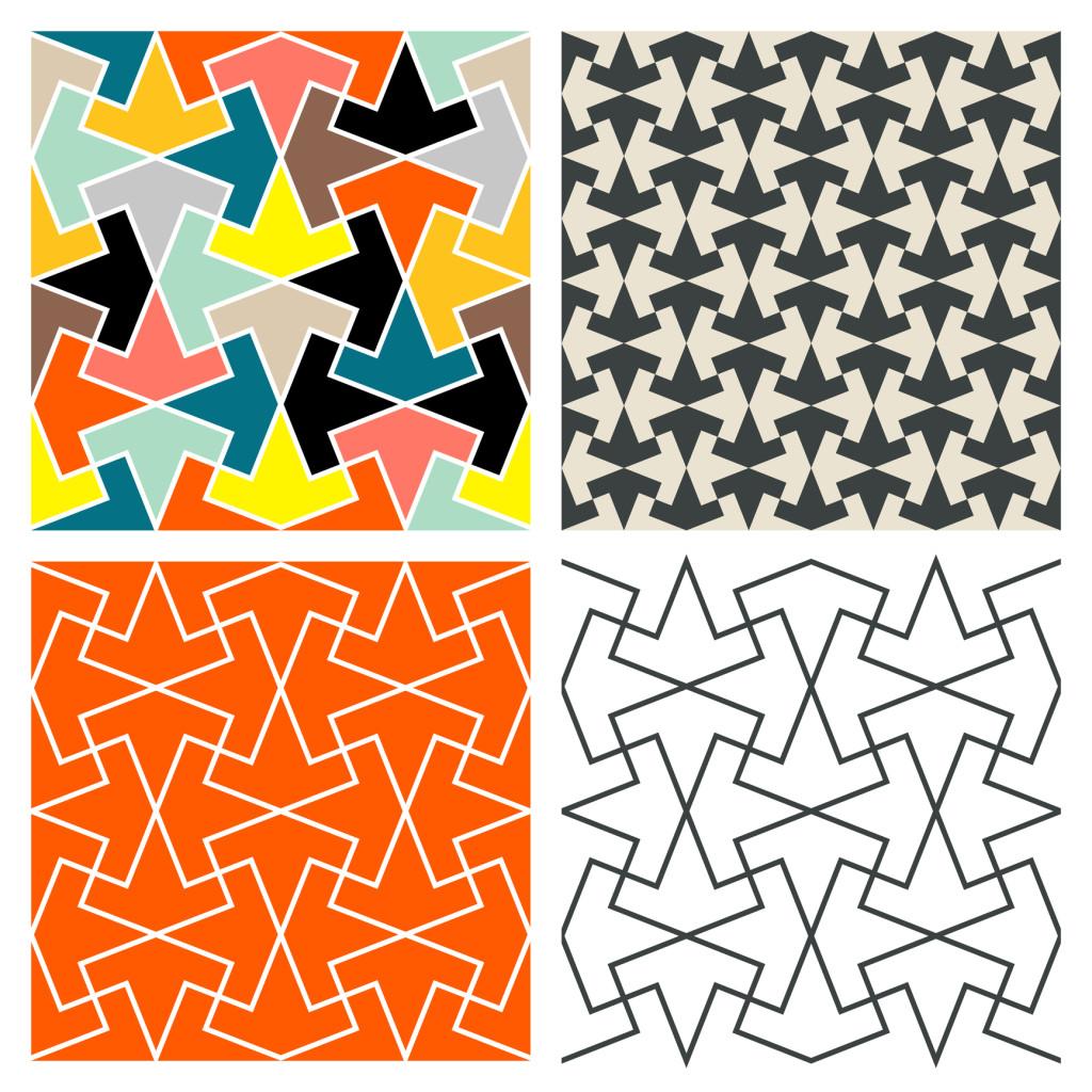 Tessellations Martin Isaac Tile Patterns