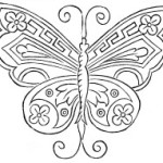 Butterfly Design for Hand Embroidery – VTNS Fan Freebie
