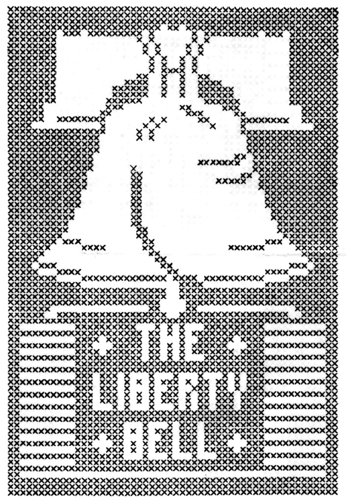 Liberty Bell Assisi Embroidery Pattern - Vintage Crafts and More