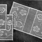 Filet Crochet Pattern and Chart – Butterflies in the Garden