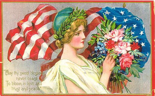 American Patriotic Post Card