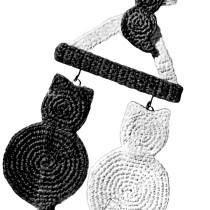 Cat Potholder Crochet Pattern - Vintage Crafts and More