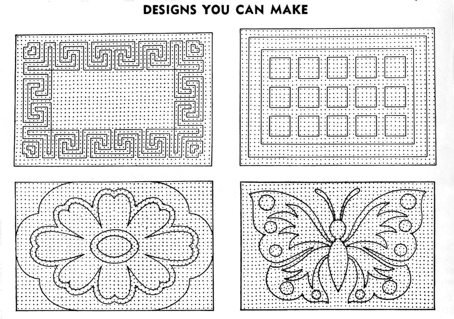 simple carpet designs. Pom Pon Rugs Designs You Can Make - Vintage Crafts And More Simple Carpet