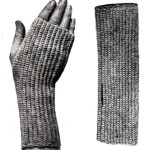 Antique Crochet Pattern Fingerless Mittens - Vintage Crafts and More