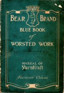 Bear Brand Blue Book of Worsted Work - Vintage Crafts and More