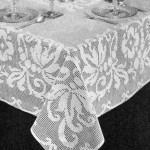 Banquet Tablecloth Filet Crochet Pattern