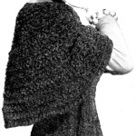 The Velvet Touch Chenille Shawl Crochet Pattern