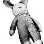 Vintage Crochet Sleeping Bunny Doll Pattern