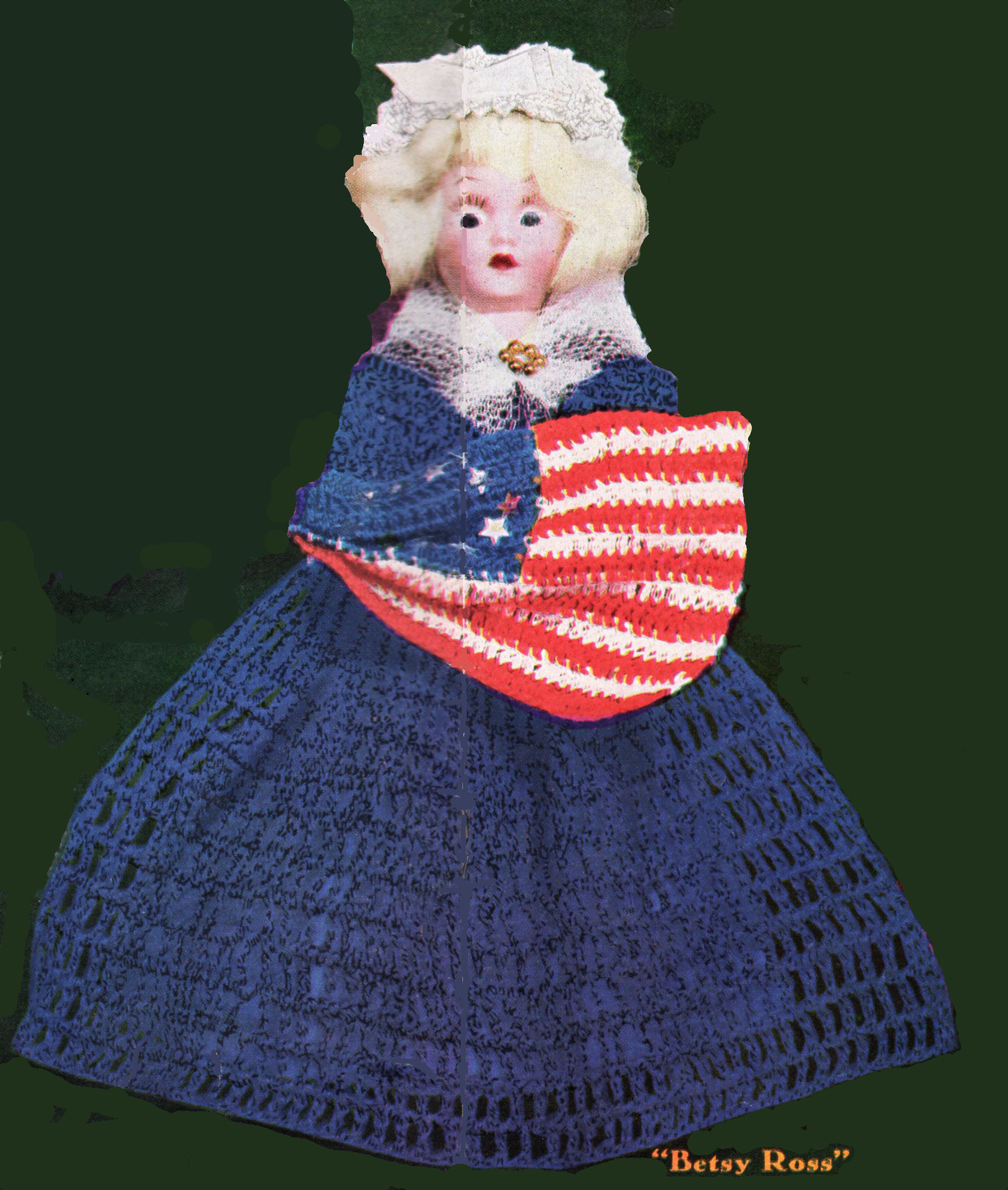 Dolls Of Famous Women In History Betsy Ross Doll Outfit And Flag