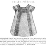 1800's Child's Pinafore Dress Sewing Pattern