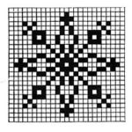 Free Filet Crochet Snowflake Pattern