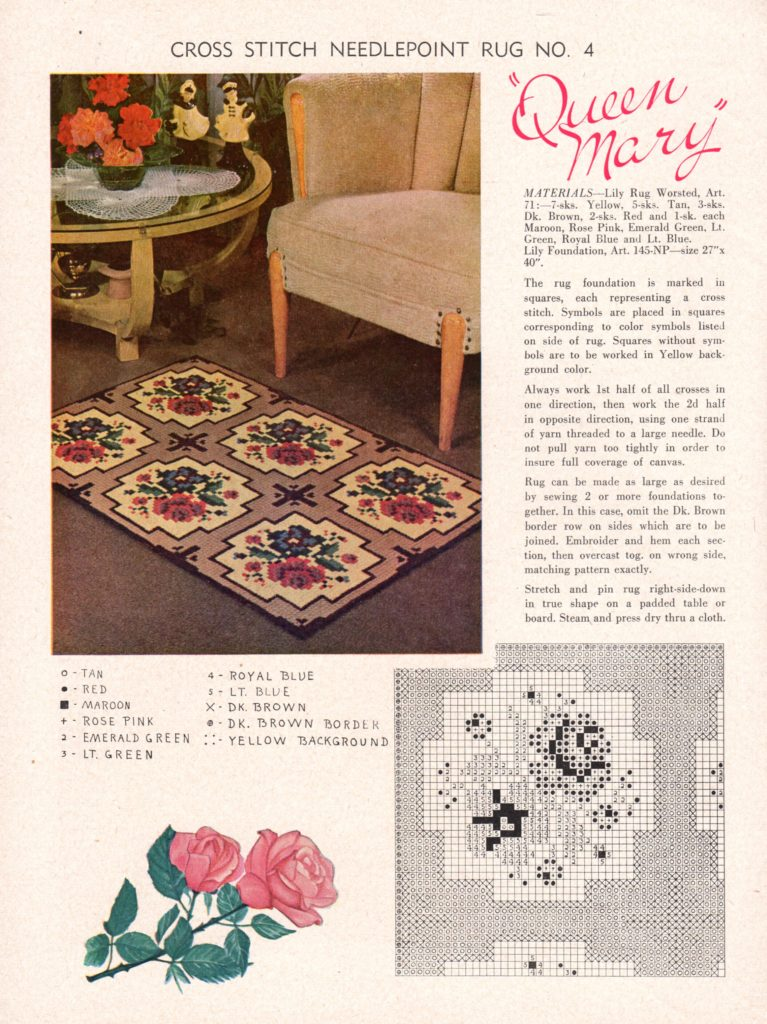 cross-stitch-needlepoint-rug-rose-vintage-crafts-and-more