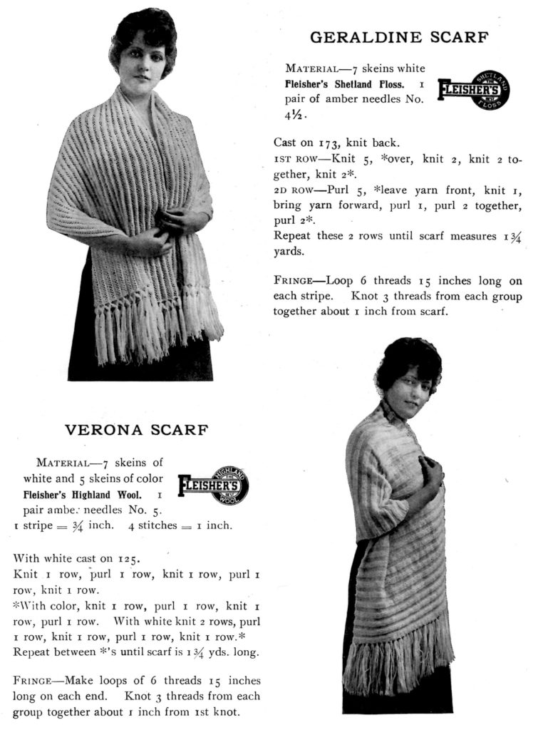 fleishers-knitting-crocheting-manual-knitted-scarf-patterns-vintage-crafts-and-more