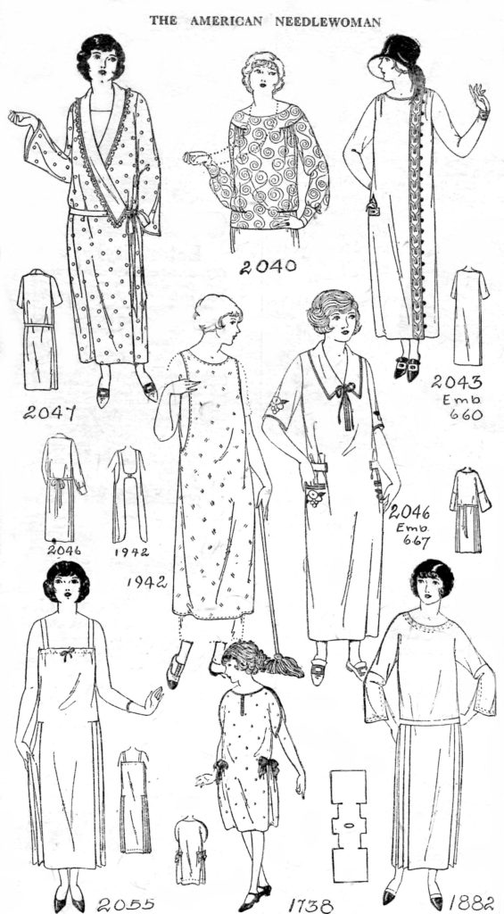 The American Needlewoman Magazine Pattern Page - Vintage Crafts and More