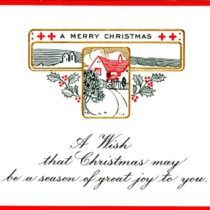 Merry Christmas Postcard 1915
