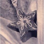 Vintage Star Sachet or Stuffed Star Ornament Crochet Pattern