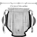 1925 Star Needlework Journal Vintage Tea Apron Sewing Instructions