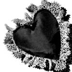 Crochet Edging Pattern for a Heart Pincushion or Sachet