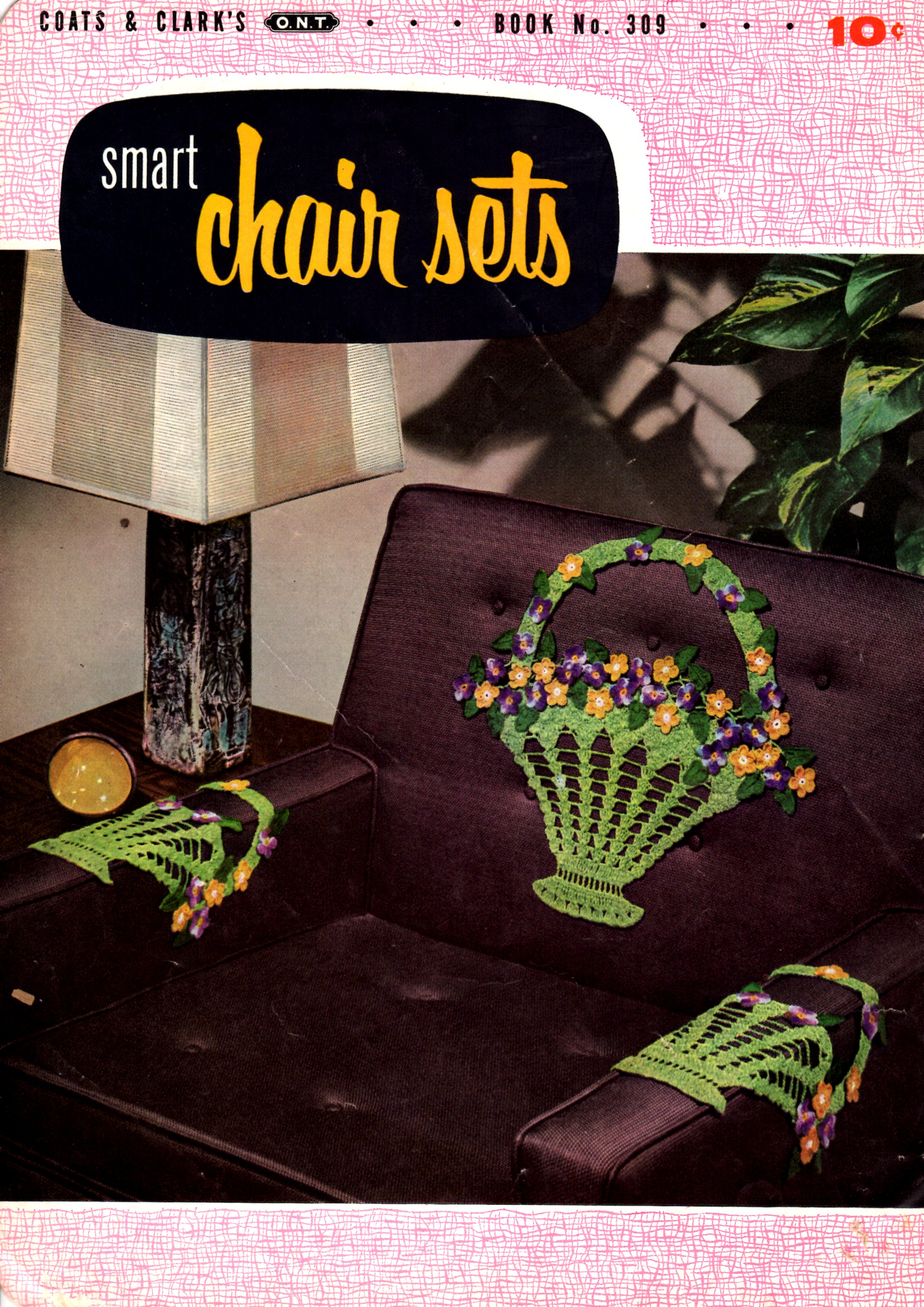Crochet Flower Basket Pattern From Smart Chair Sets Coats And