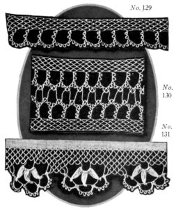 Armenian Edging Stitch Making Lace Edging with a Sewing Needle - Vintage Crafts and More