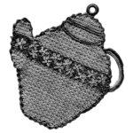 Potholder Crochet Pattern for a Teapot, Cookie Jar, Plate and Minted Tea Cooler Recipe