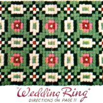 Pom Pon Rug Wedding Ring