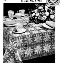 Crochet Pattern for Shining Star Tablecloth - Vintage Crafts and More