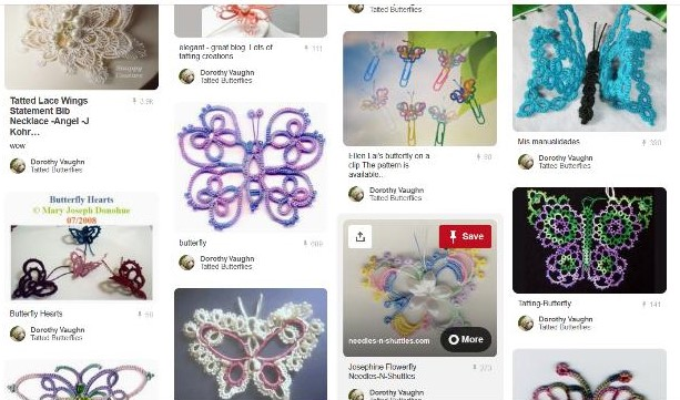 Pinterest Tatting Butterfly