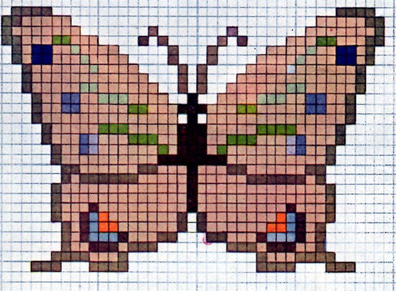 ... Cross Stitch Pattern Butterfly
