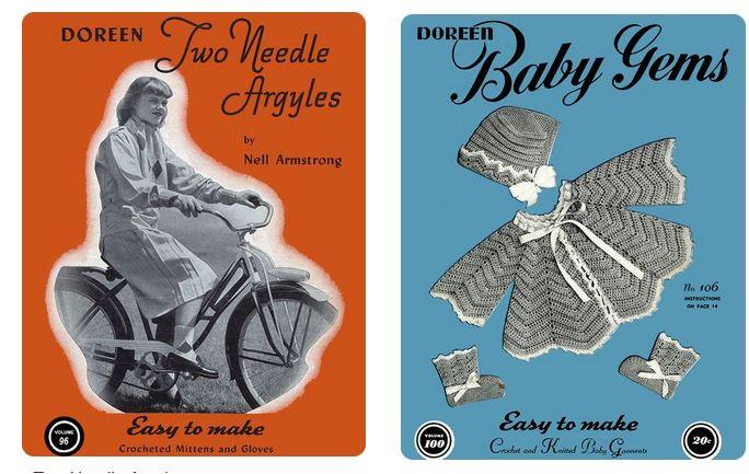 doreen knitting booklets 2