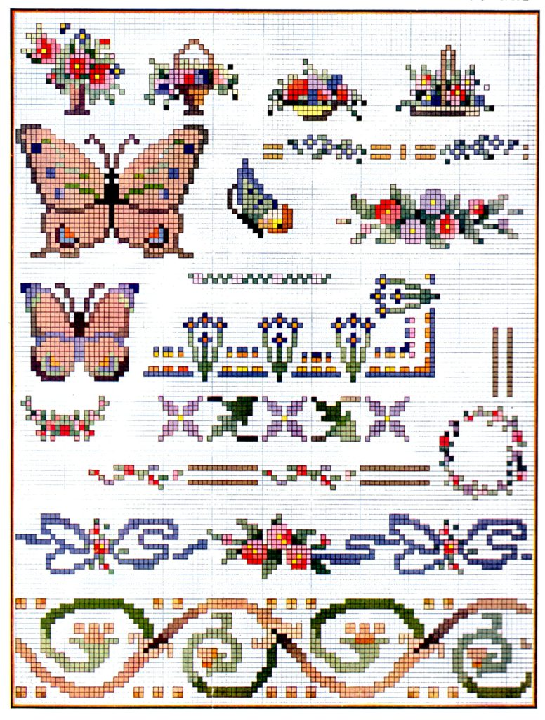 Cross Stitch Designs for Many Purposes Light