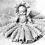 Doreen Doll Pattern 262 Crochet Bed Pillow Doll