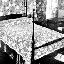 filet crochet bedspread pattern mayfair