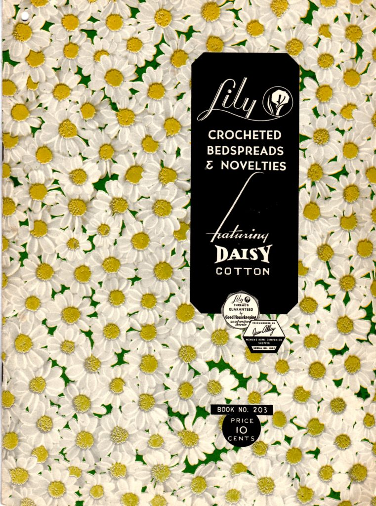 Lily Crocheted Bedspreads and Novelties Booklet