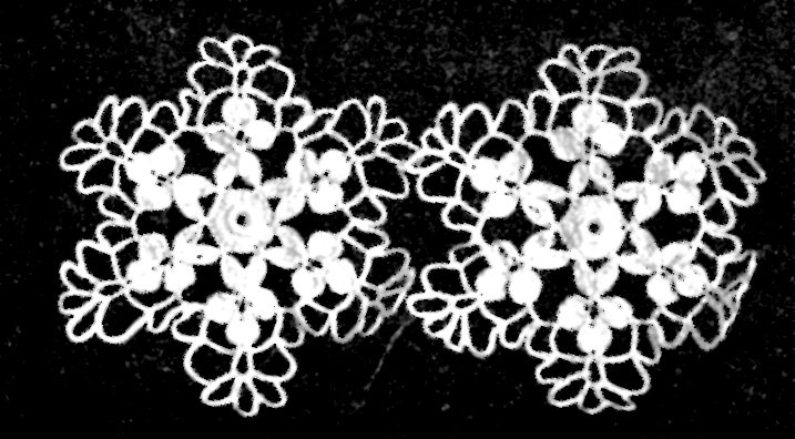 Vintage Snowflake Crochet Pattern Ornament Vintage Crafts And More