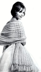 Vintage Stole Knitting Pattern