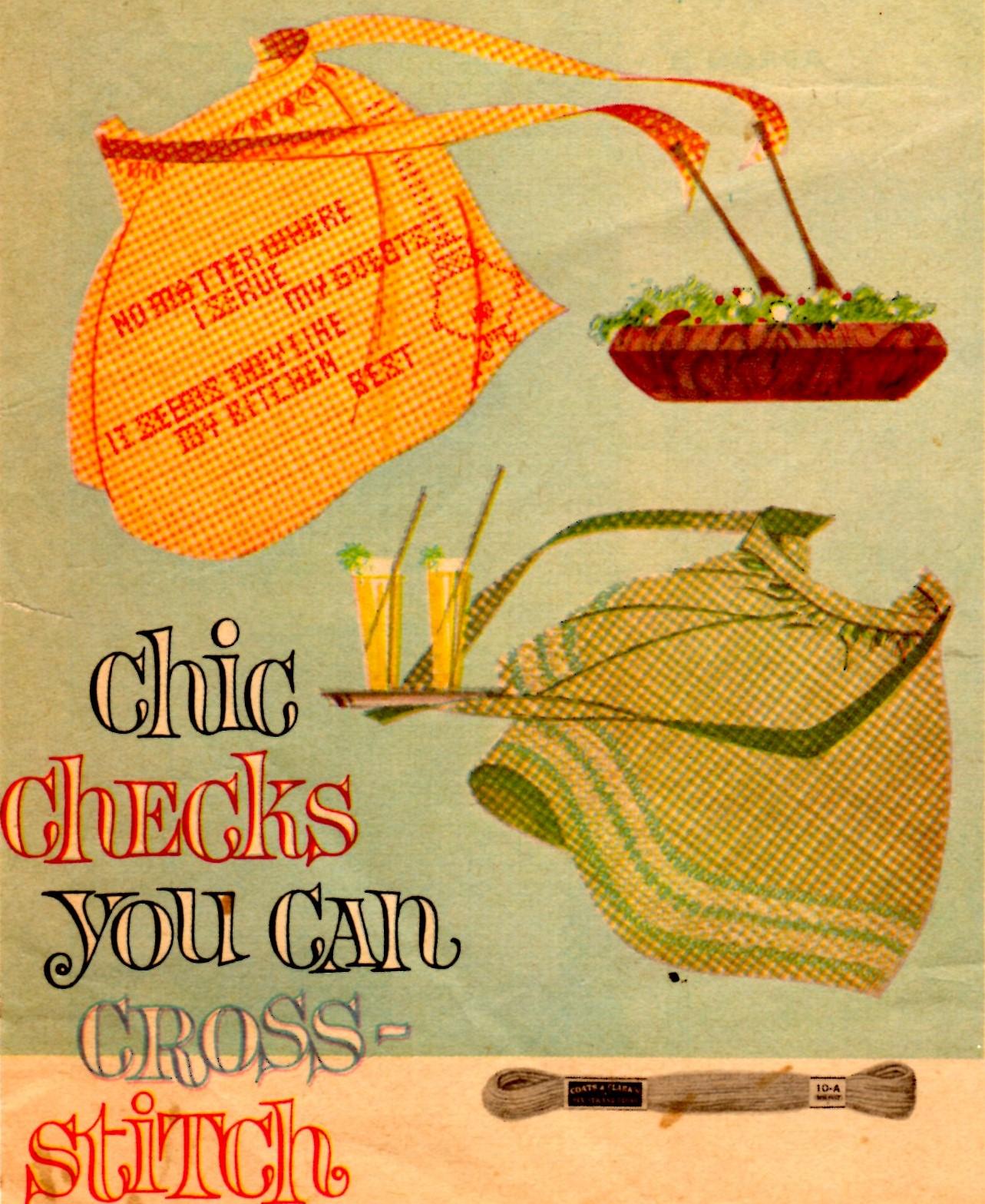 30 Free Vintage Apron Patterns SEWING Pinterest Vintage 83