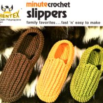 Minute Crochet Slippers Pattern