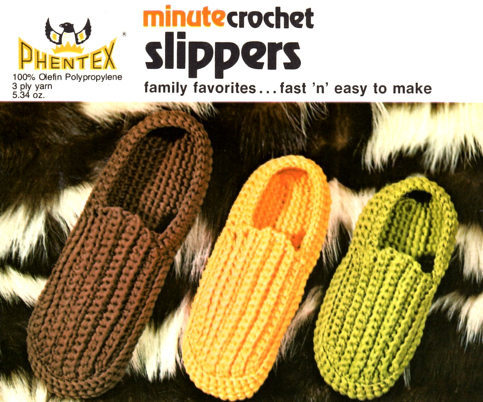 Minute Crochet Slippers For The Whole Family Fast And Easy To Make Vintage Crafts And More