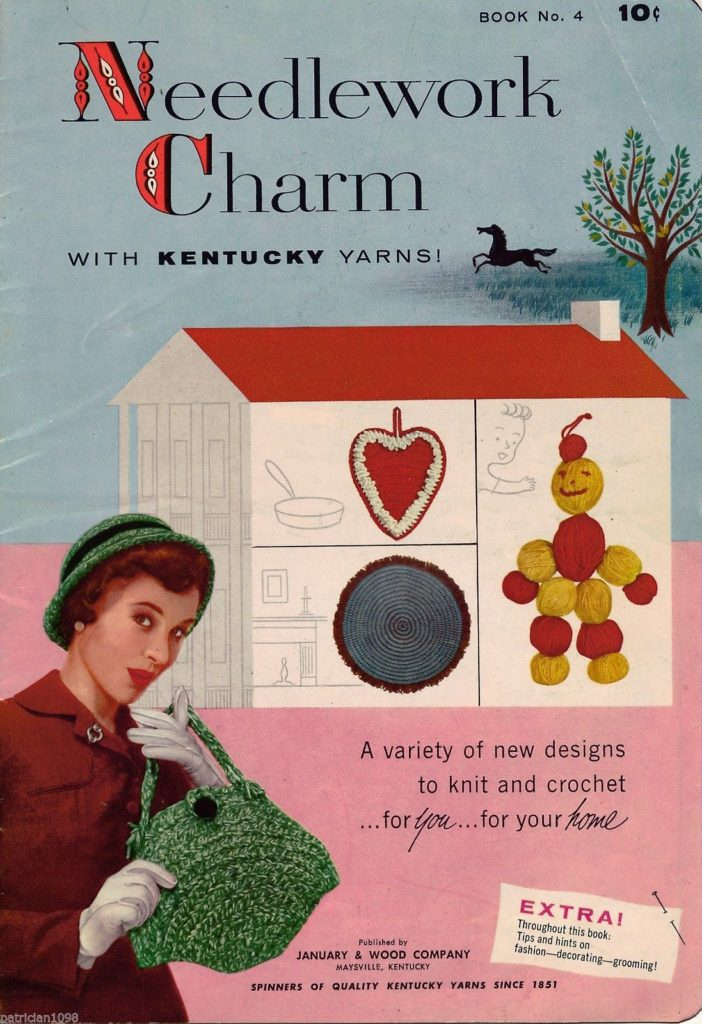 Needlework Charm knit and crochet booklet