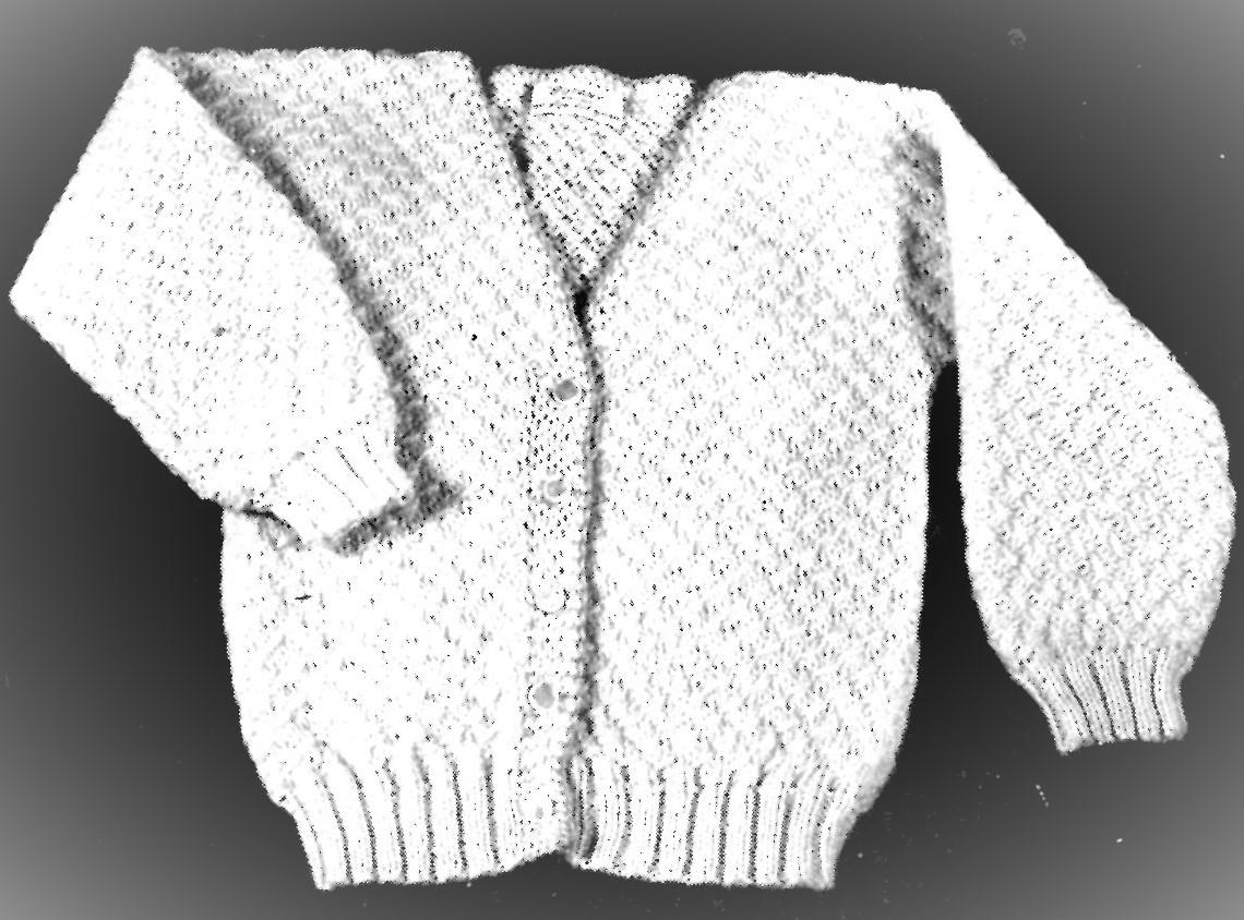 Toddler Cardigan Sweater Knitting Pattern Botany Brand Yarns ...