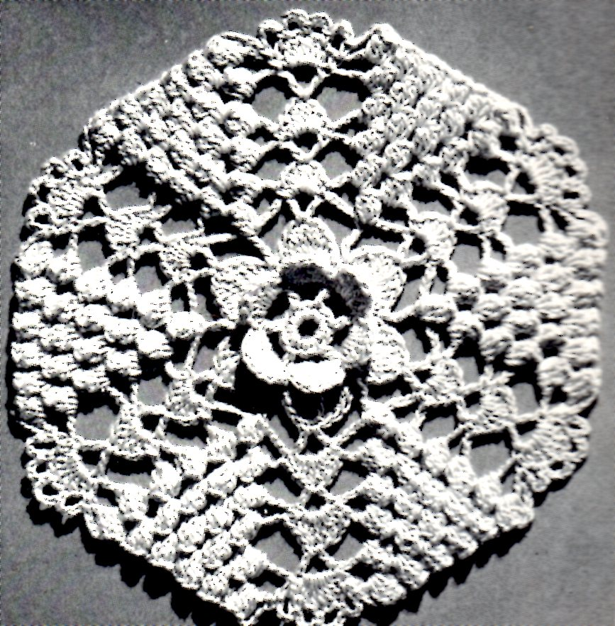 Irish Melody Motif Bedspread Crochet Pattern Vintage Crafts And More