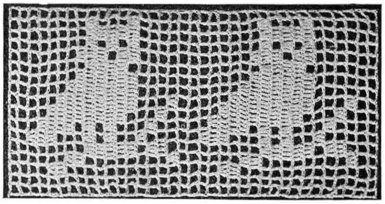 Filet Crochet Owl Pattern Vintage Crafts And More